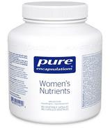Pure Encapsulations Women's Nutrients