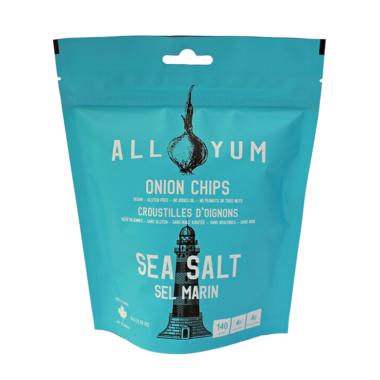 All Yum Onion Chips Sea Salt