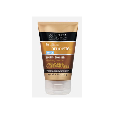 John Frieda Brilliant Brunette Satin Shine Finishing Creme