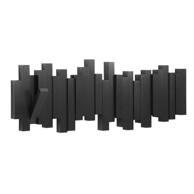 Umbra Sticks Multi-hook in Black