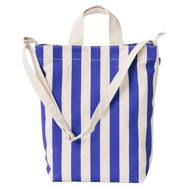 Baggu Duck Bag in Cobalt Stripe