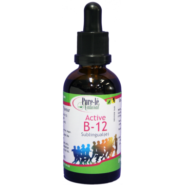 Pure-le Natural Active B-12 Sublingual Drops