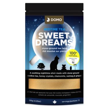 Domo Bedtime Tea Sweet Dreams Stone Ground Tea Latte