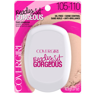CoverGirl Ready, Set gorgeous Compact Powder Foundation 105-110