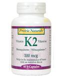 Prairie Naturals Vitamin K2 Menaquinone 7
