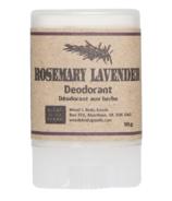 Wood's Body Goods Rosemary Lavender Natural Mini Deodorant