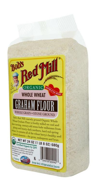 Organic graham flour