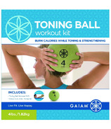 Gaiam Toning Ball Workout Kit