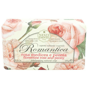 Nesti Dante Romantica Florentine Rose and Peony Soap