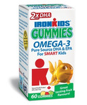IronKids Gummies Omega-3's for Smart Kids
