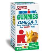 IronKids Gummies Omega-3's for Smart Kids