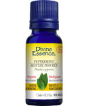 Divine Essence Peppermint Organic Essential Oil