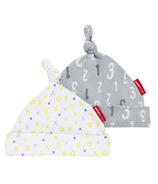 Skip Hop ABC-123 Baby Hats 2 Piece Set Grey