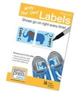 Emily Press Labels Shoe Labels Parade Stars