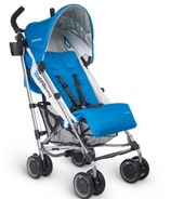 UPPAbaby G-Luxe Stroller Georgie Marine Blue & Silver