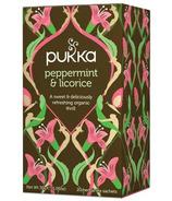 Pukka Peppermint & Licorice Tea