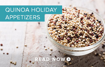 Quinoa Holiday Appetizers