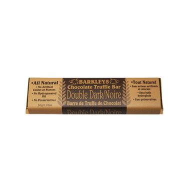 Barkley\'s All Natural Double Dark Chocolate Truffle Bar