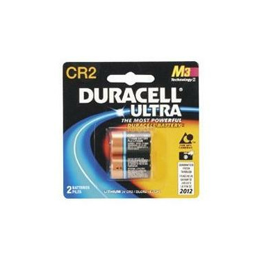Duracell Ultra CR2 3V Lithium Photo Battery