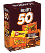 Hershey's 50 Snack Size Bars