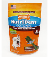 Nutri Dent Complete Dental Chews Grain Free Small Size 8 Pack