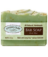 Living Clay Co. Fresh Mint Bar Soap
