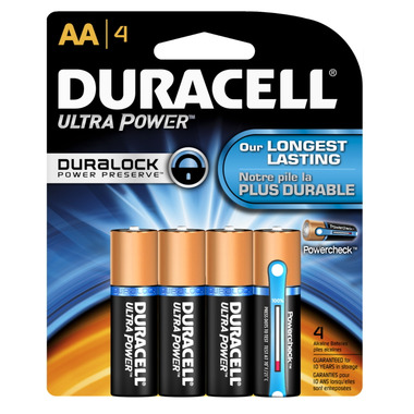 Duracell Ultra Advanced AA Batteries
