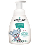 ATTITUDE Eco-Baby 3-in-1 Body Wash, Shampoo & Conditioner