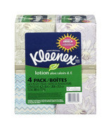 Kleenex Facial Tissues With Lotion 4-Pack