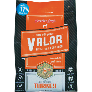 Grandma Lucy\'s Valor Turkey with Quinoa Freeze-Dried Dog Food