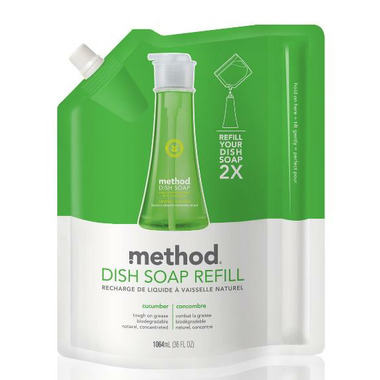 Method Dish Soap Refill in Cucumber