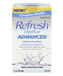 Refresh Optive Advanced Lubricant Eye Drops