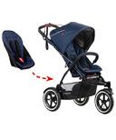 Phil & Teds Navigator Stroller & FREE Double Kit