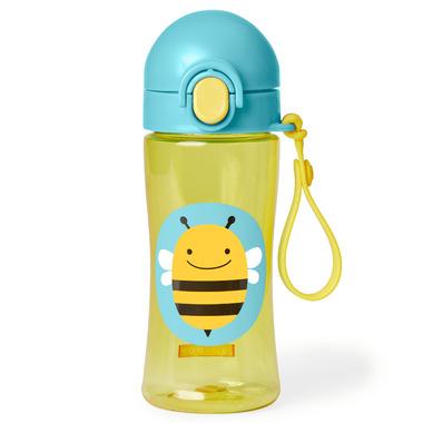 Skip Hop Zoo Lock-Top Sports Bottle Bee