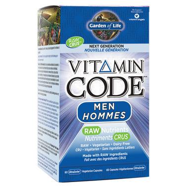Garden of Life Vitamin Code Men