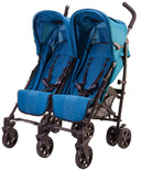 Guzzie & Guss Twice Double Umbrella Stroller Aqua