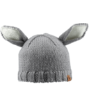 Bedford Road Grey Knitted Bunny Ears Hat