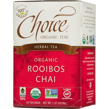 Choice Organic Teas Roobios Chai Tea