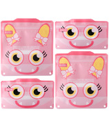 Russbe Reusable Snack/Sandwich Bags Pink Monster