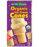 Let's Do...Organic Ice Cream Cones