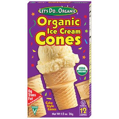 Let\'s Do...Organic Ice Cream Cones