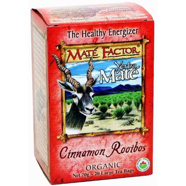 Mate Factor Yerba Mate Organic Cinnamon Rooibos Tea