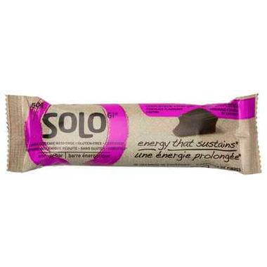 SoLo Gi Chocolate Charger Energy Bars
