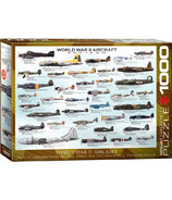 Eurographics World War II Aircraft Puzzle
