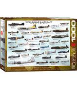 Eurographics World War II Aircraft Puzzle