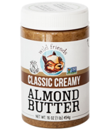 Wild Friends Classic Creamy Almond Butter