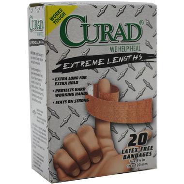 Curad Adhesive Bandage Extreme Length