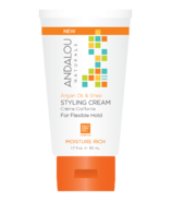 ANDALOU naturals Argan Oil & Shea Moisture Rich Styling Cream Travel Size