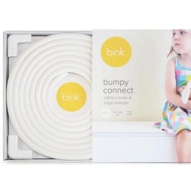 Bink White Bumpy Connect Safety Corner & Edge Cushions