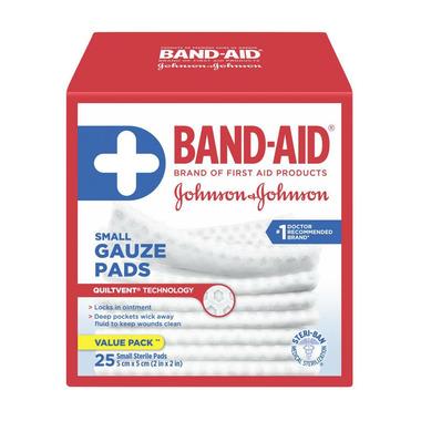 Band-Aid Brand Small Gauze Pads